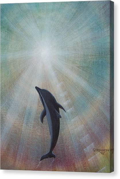 Ascending To The Light Canvas Print