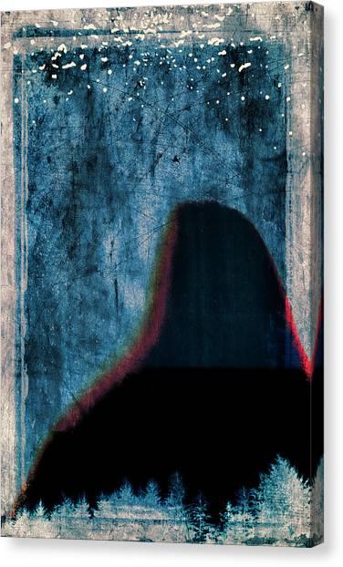 Mountain Climbing Canvas Print - Ascent by Carol Leigh