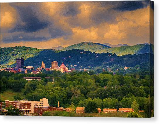 Asheville North Carolina Canvas Print