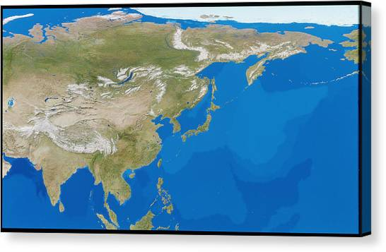 Gobi Desert Canvas Print - Asia by Tom Van Sant, Geosphere Project/planetary Visions/science Photo Library