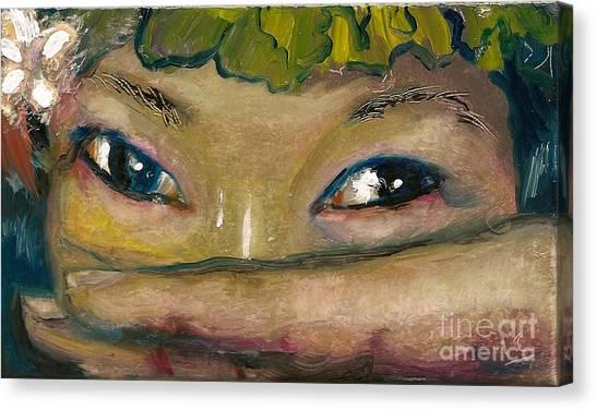 Asian Eyes Canvas Print