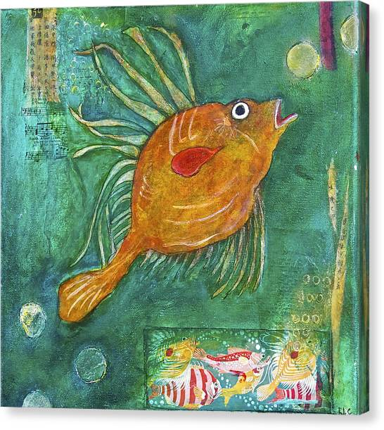 Asian Fish Canvas Print