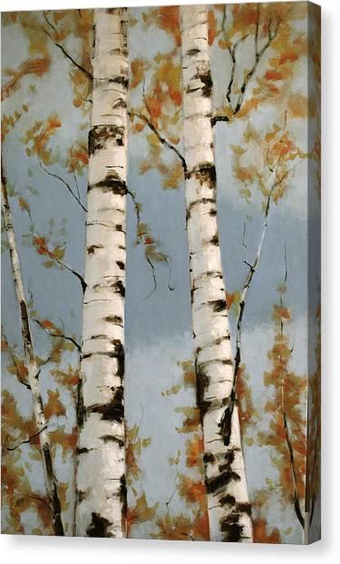 Aspen Autumn Canvas Print