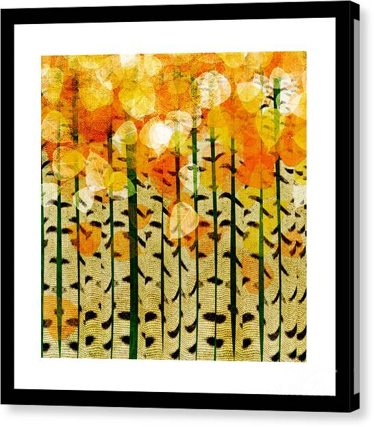 Aspen Colorado Abstract Square 4 Canvas Print