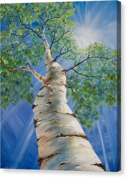 Aspen Light Canvas Print