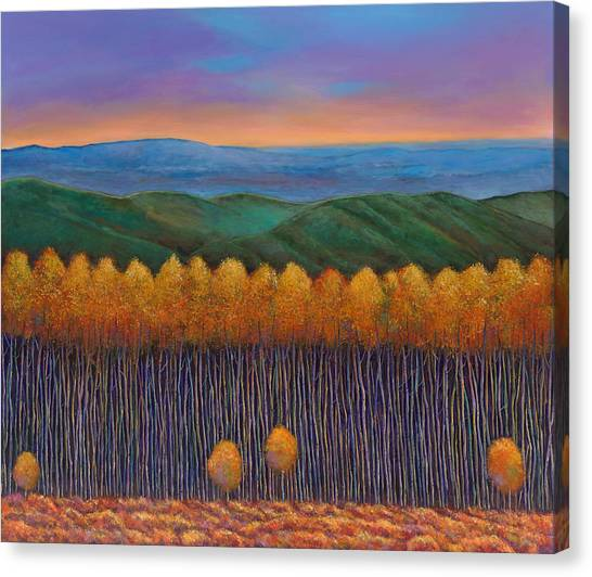 Basin Canvas Print - Aspen Perspective by Johnathan Harris