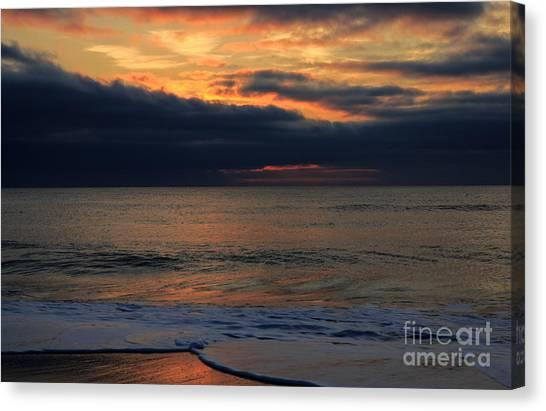Assateague Sunrise Canvas Print