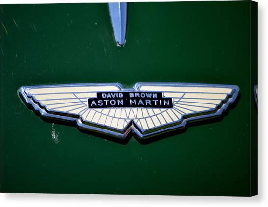 Aston Martin Badge Canvas Print