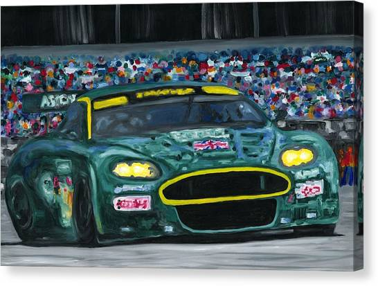 Aston Martin Wins Le Mans 2008 Canvas Print