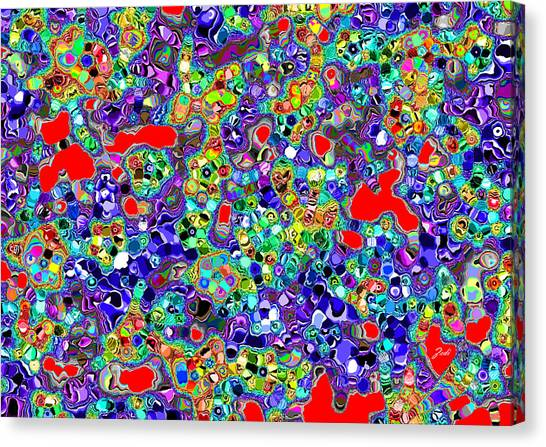 Astratto - Abstract 22 Canvas Print