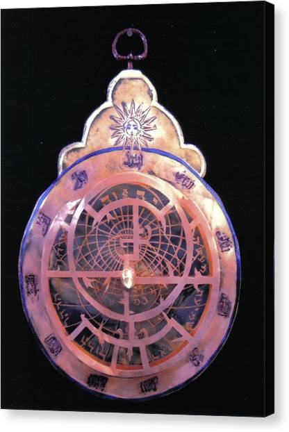 Astrolabe Prayer Canvas Print