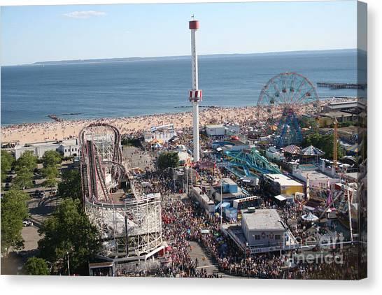 Astroland Coney Island Canvas Print
