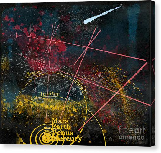 Astronomie Canvas Print by R Kyllo