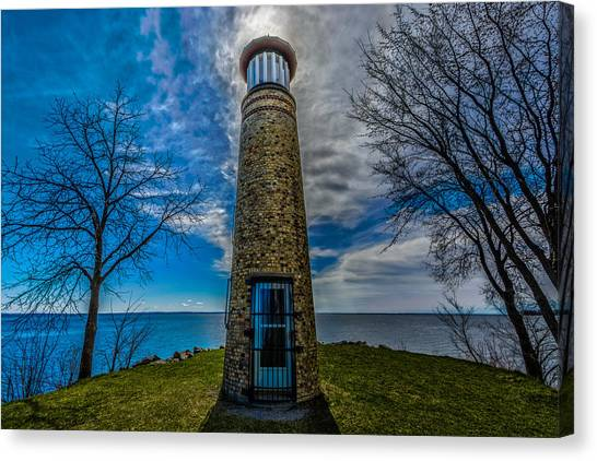 Asylum Point Lighthouse Canvas Print