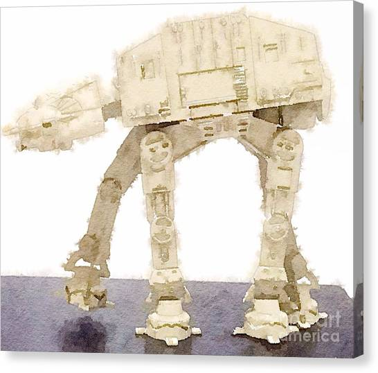 At-at All Terrain Armored Transport Canvas Print