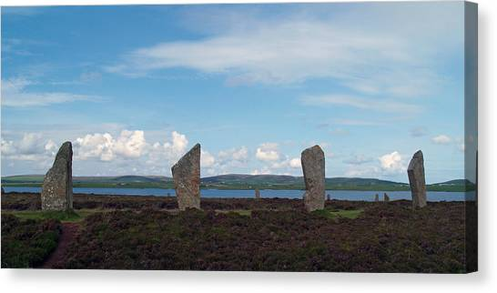 At Brodgar 2 Canvas Print by Steve Watson