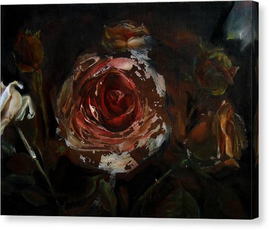 At Night Canvas Print by Tanya Byrd