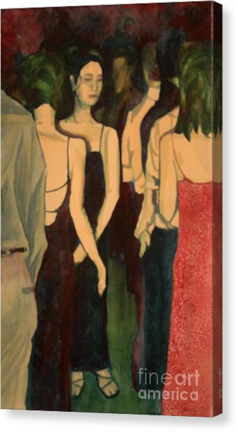 Ohio Valley Canvas Print - At The Dance by Janet Felts