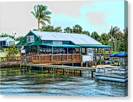 At The Riverside On Mothers Day 2112 Canvas Print by Frank Feliciano