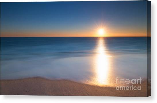 Mv Canvas Print - At The Waters Edge Version 2 by Michael Ver Sprill