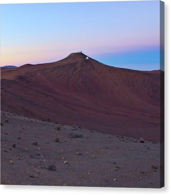 Atacama Desert Canvas Print - Atacama Desert And Paranal Observatory by Babak Tafreshi
