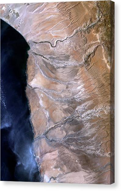 Atacama Desert Canvas Print - Atacama Desert by Planetobserver/science Photo Library