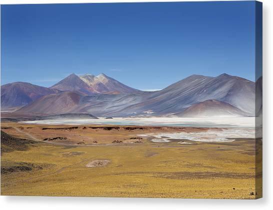 Atacama Hills Canvas Print