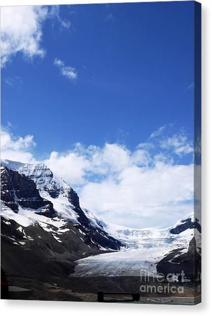 Athabascar Glacier Canvas Print