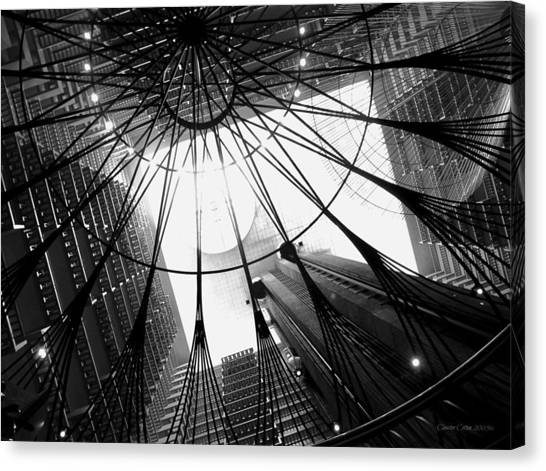 Atlanta Marriott Marquis Atrium Canvas Print