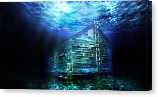 Drywall Canvas Print - Atlantasask by Starlux  Productions