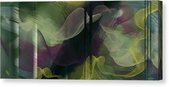 Atlantian Scarves Canvas Print