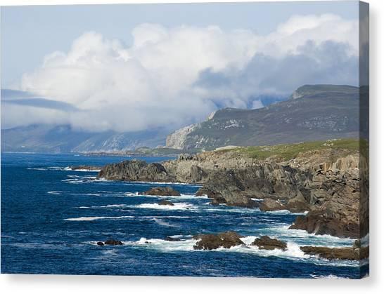 Atlantic Coast Achill Island Canvas Print