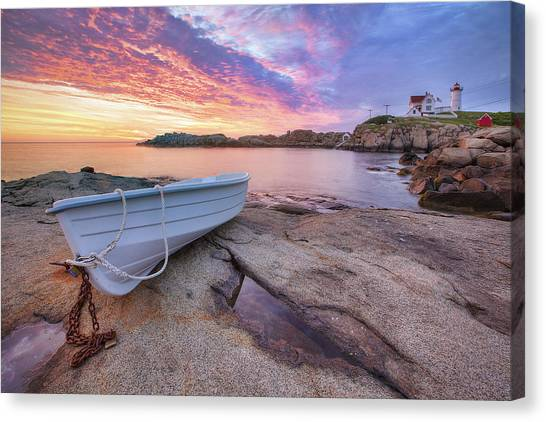 Atlantic Islands Canvas Print - Atlantic Dawn by Eric Gendron