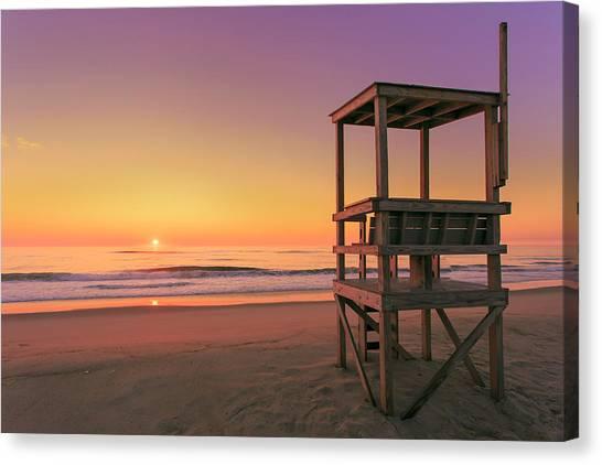 Atlantic Ocean In The Morning - Nauset Beach Canvas Print by Dapixara
