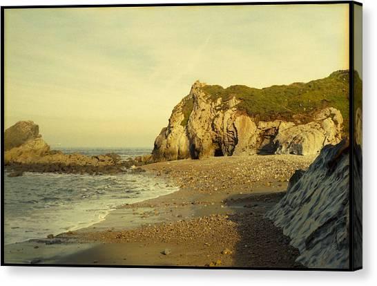 Analog Canvas Print - Atlantic Seascape Asturias Spain by Juan  Bosco