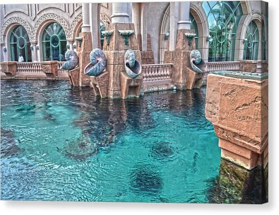 Atlantis Resort In The Bahamas Canvas Print