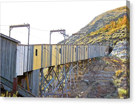 Atlas Coal Mine Fall Canvas Print