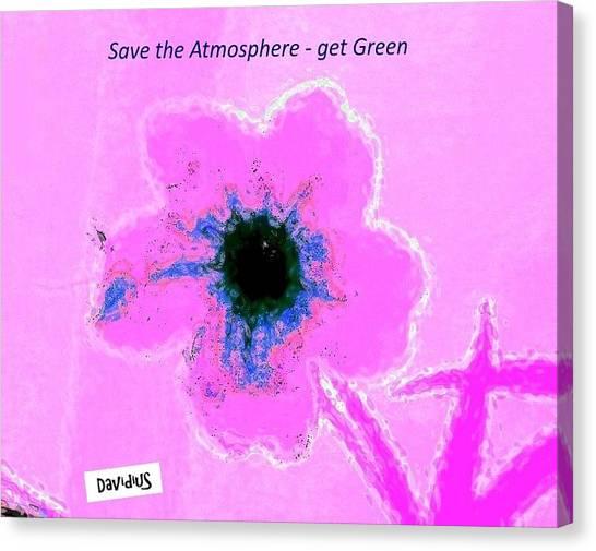 Atmospheric Pink Canvas Print