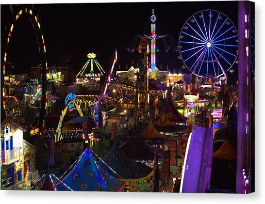 Atop The Carnival Canvas Print