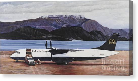 Atr 72 - Arctic Bay Canvas Print