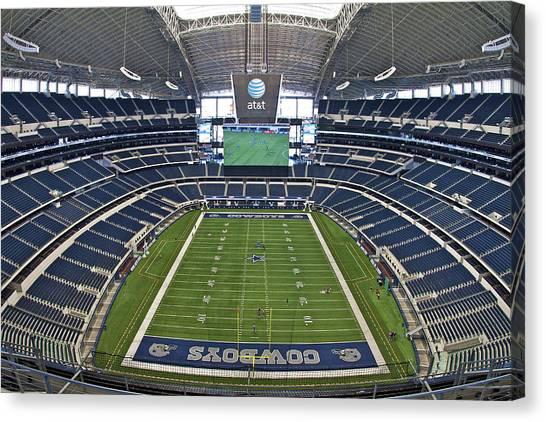 Att Or Cowboy Stadium Canvas Print