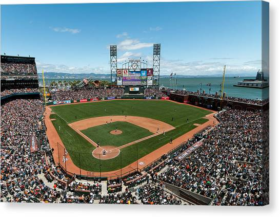 Att Park On Mothers Day Canvas Print