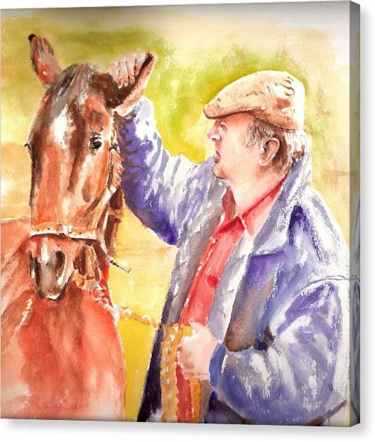Atta Boy Canvas Print by Karl Opanowicz