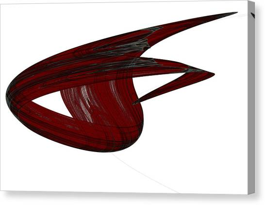Attractor No. 31 Canvas Print by Mark Eggleston
