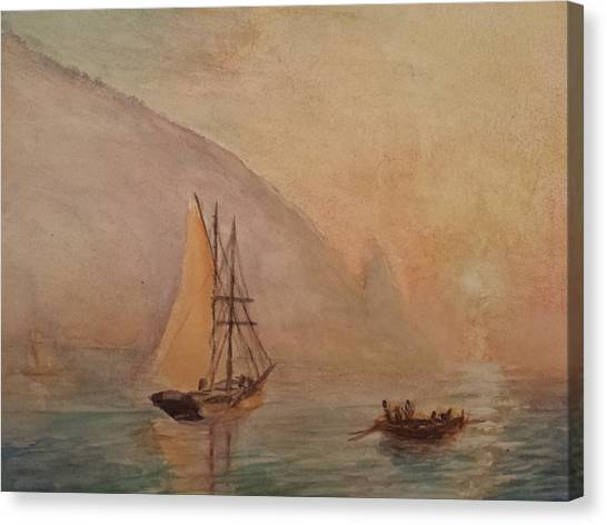 Au-dag After I. K. Aivazovsky Canvas Print