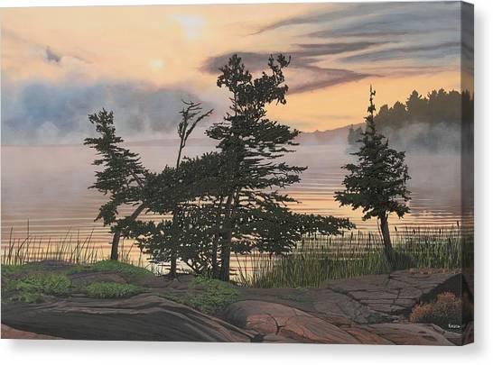 Auburn Evening Canvas Print