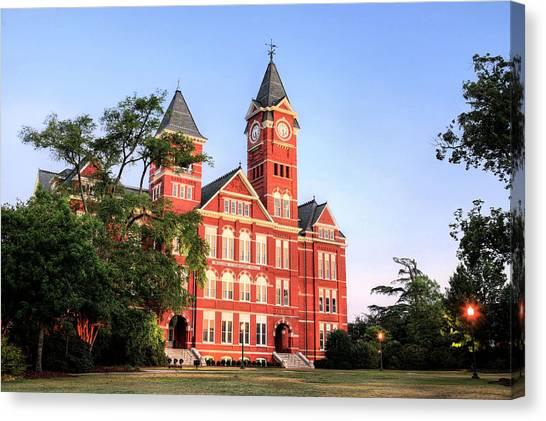 Auburn University Canvas Print - Auburn by JC Findley