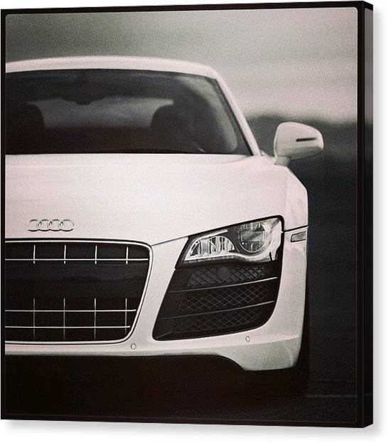 Audi Canvas Print - #audi #bmw #lamborghini #cars by Nawaabi Prince