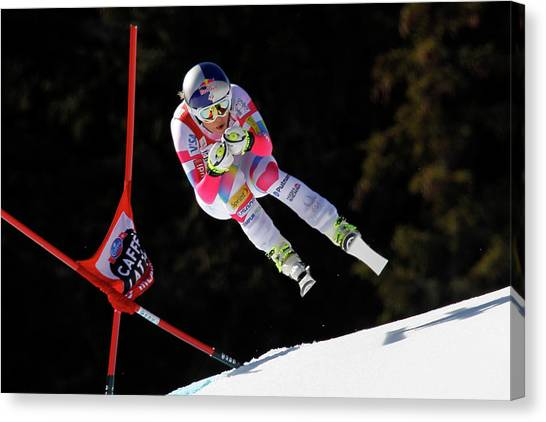 Audi Fis Alpine Ski World Cup - Womens Canvas Print by Alexis Boichard/agence Zoom