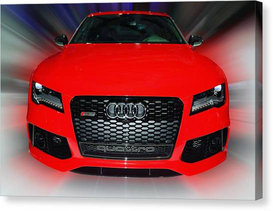 Audi Quattro Rs7 2014 Canvas Print